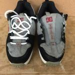 DC Shoes のアッパー革補修などの修理について